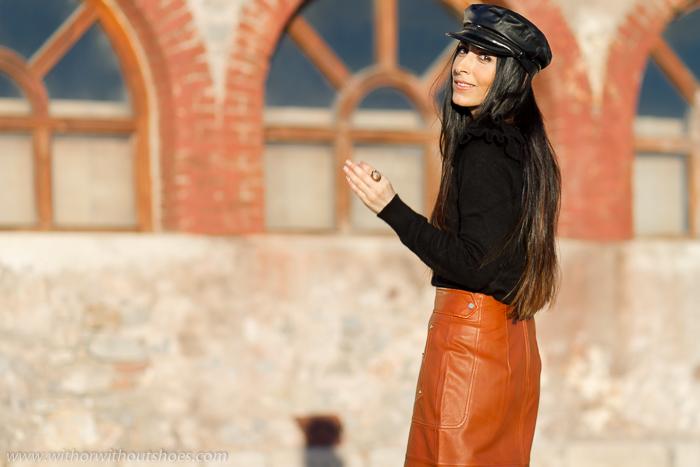 influencer blogger de moda valenciana con propuestas outfit para vestir estas Navidades