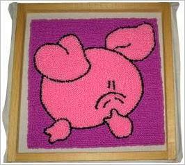 Вышивка в ковровой технике