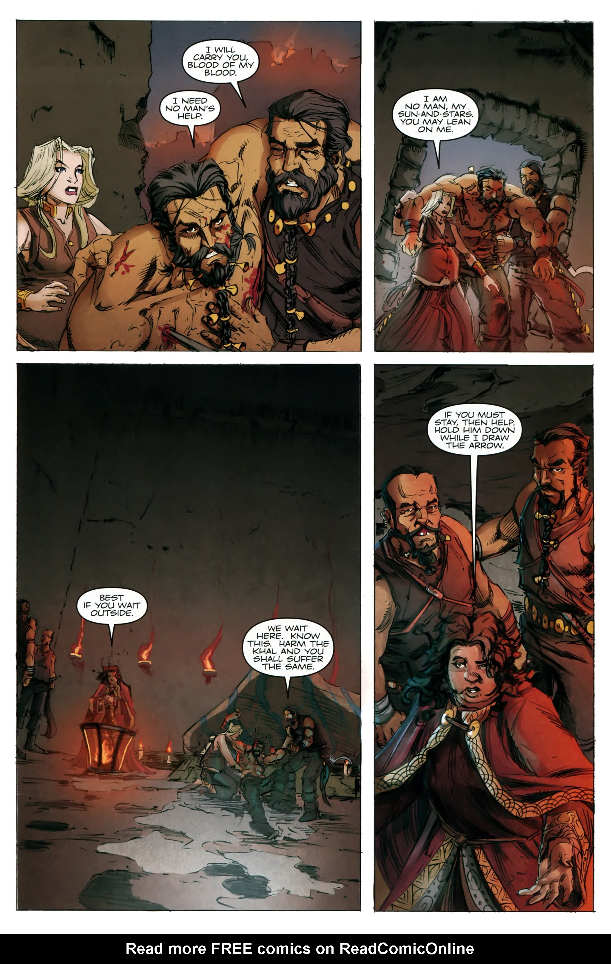 Read online A Game Of Thrones comic -  Issue #20 - 17