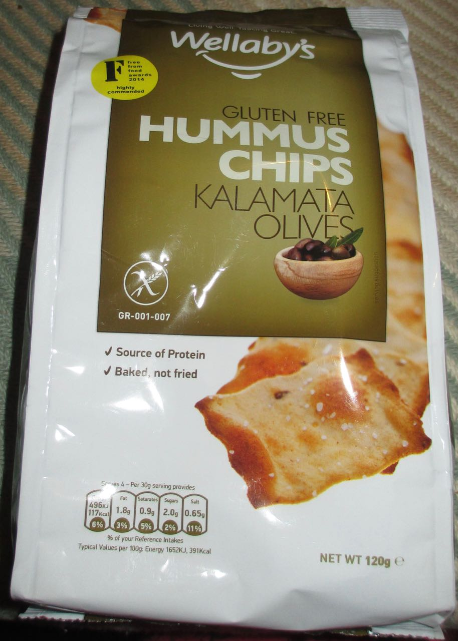 Foodstuff Finds Hummus Chips Kalamata Olives Flavour