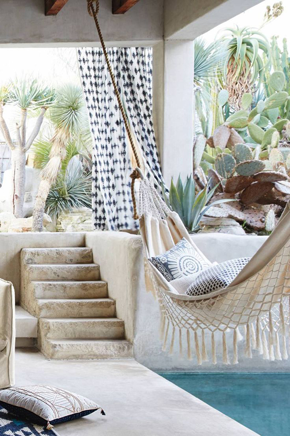 Fringed Macramé Hammock via Anthropologie