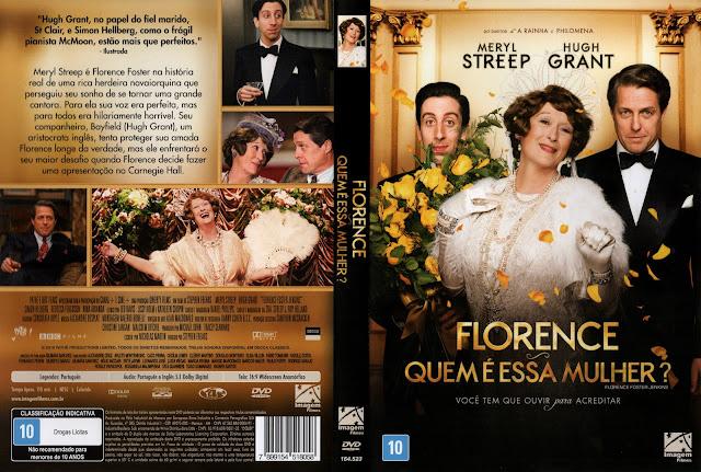 Capa DVD Florence Quem É Essa Mulher