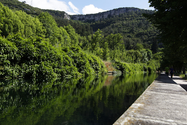 Canal del Jardín secreto de Oña