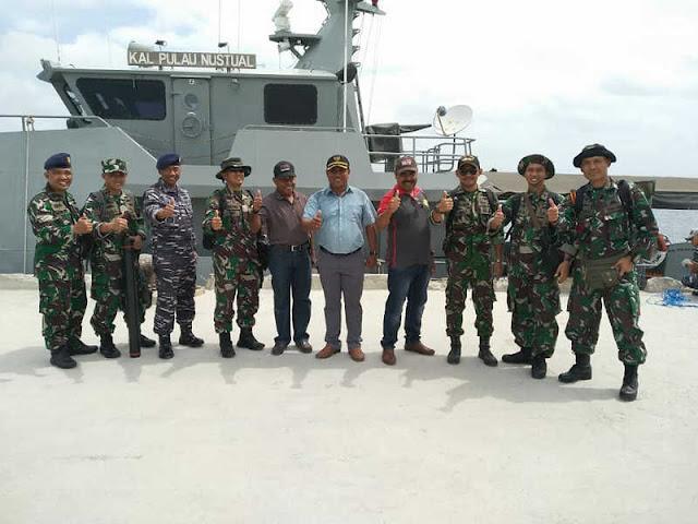 Tim Jaumed Tinjau Lokasi Latihan Armada Jaya 2018 di Adaut