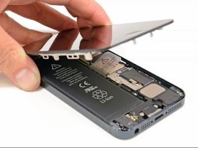 Hướng dẫn tự thay màn hình iphone 5 tại nhà