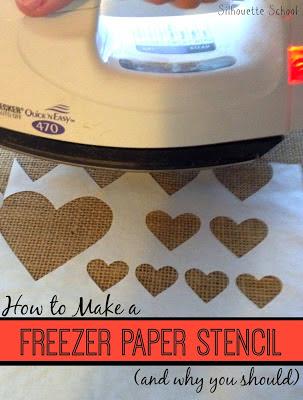 freezer paper stencil silhouette cameo tutorial beginner, freezer paper stencils, silhouette portrait