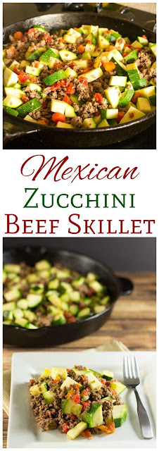 Low Carb Mexican Zucchini and Beef