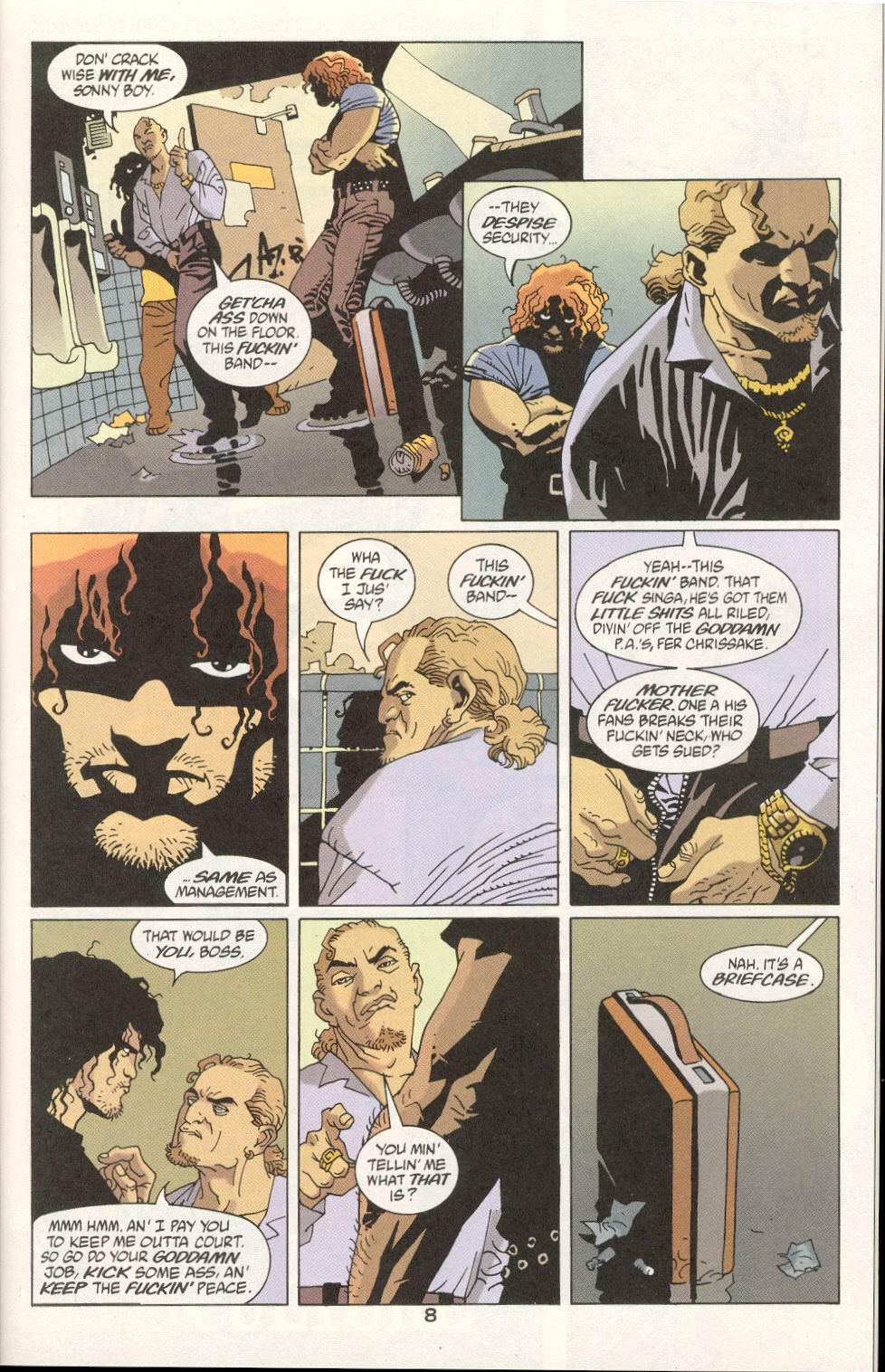 Read online 100 Bullets comic -  Issue #21 - 9