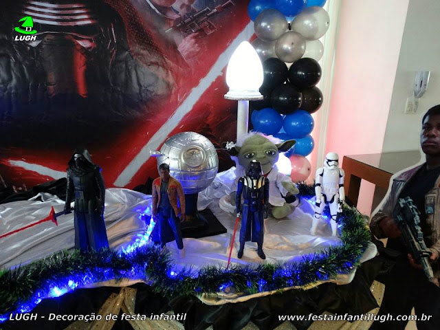 Mesa decorativa Star Wars - Festa infantil