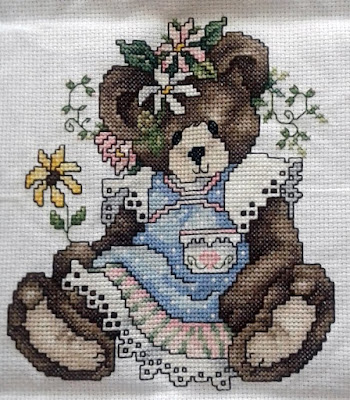 Teddy Bear Cross Stitch