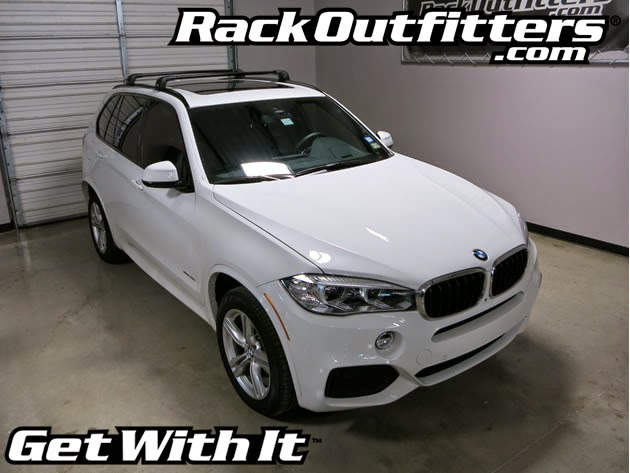 Rack Outfitters: New BMW X5 Thule BLACK AeroBlade EDGE ...