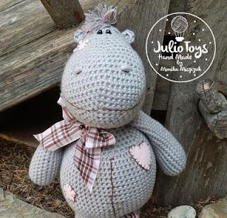 Crochet Hippo Amigurumi Free Patterns - DIY Magazine | 307x320