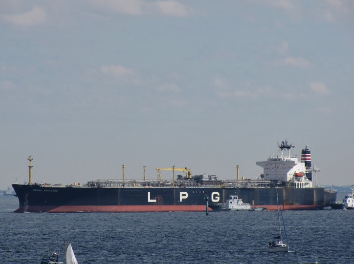 14 vessels on time charters by Indian term LPG importers