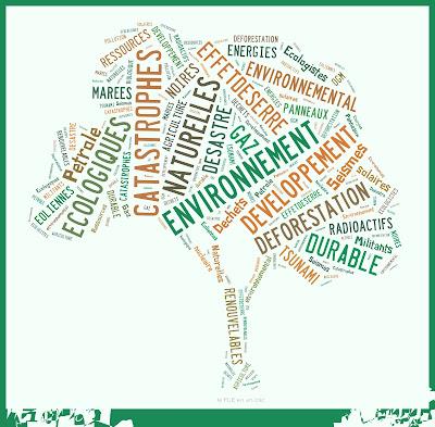 FLE ressources vocabulaire sur l'environnement