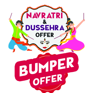 Mahendras Navratri And Dussehra Admission Offer