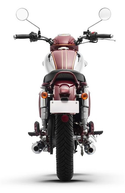 New 2019 Jawa 300 rear look