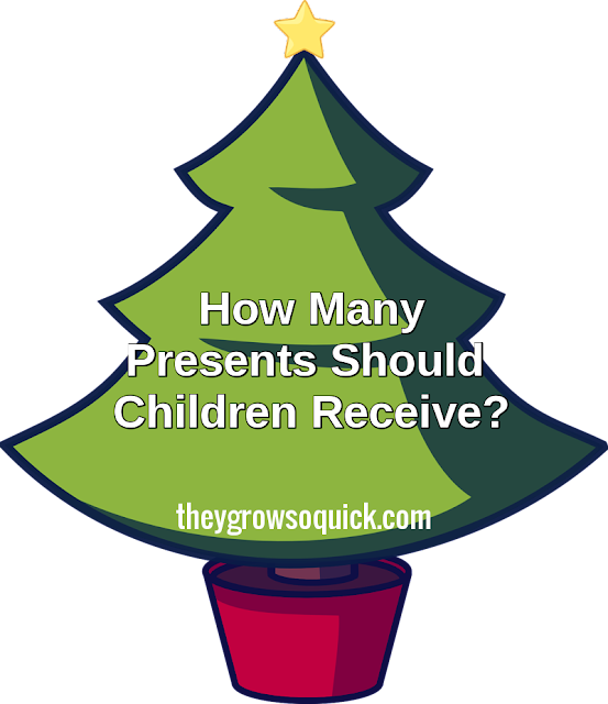 How many presents should children receive at Christmas