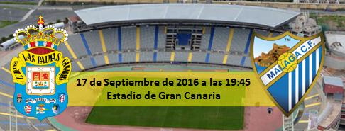 Previa UD Las Palmas - Malaga CF 17 Septiembre 19:45h