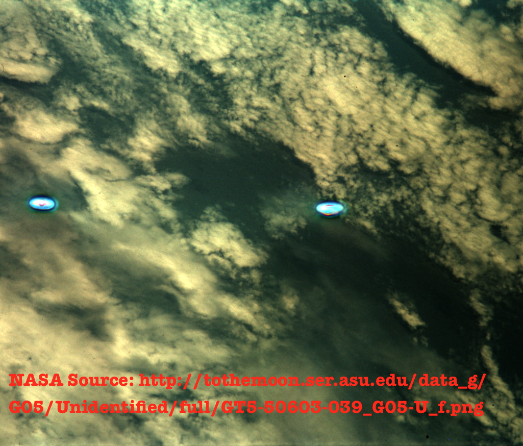 UFO SIGHTINGS DAILY: Two UFOs In NASA Photos Which Is Has