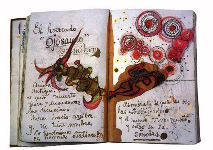 Frida Kahlo, arte, disegni, bozzetti, diario, appunti, notes, pensieri, scrittura