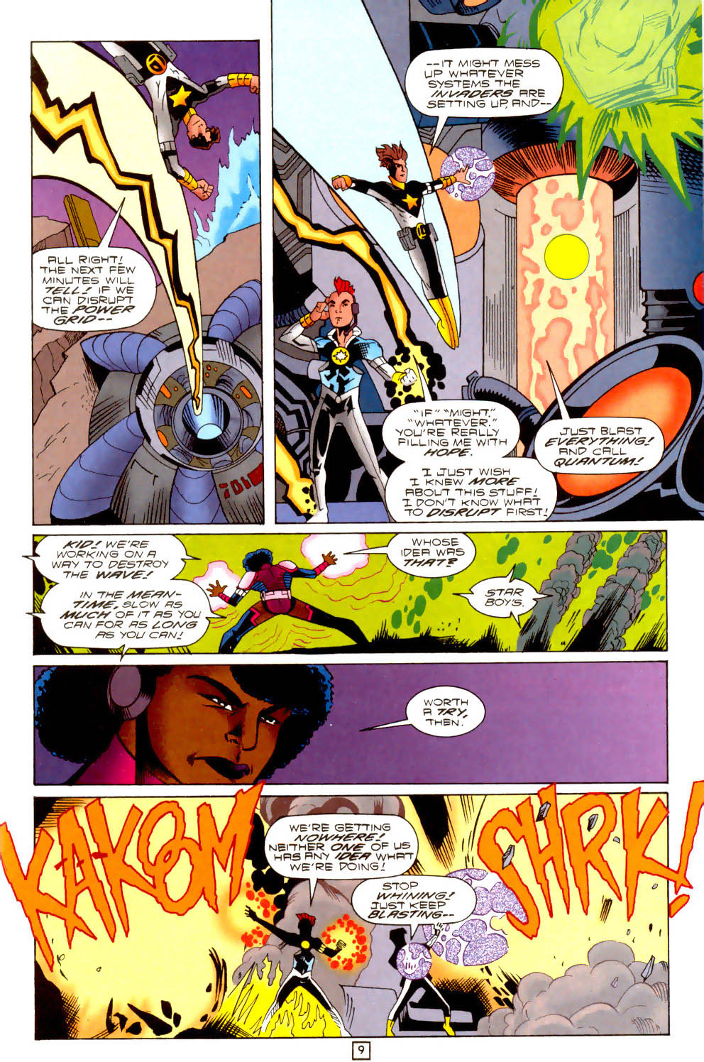 Legion of Super-Heroes (1989) 102 Page 9