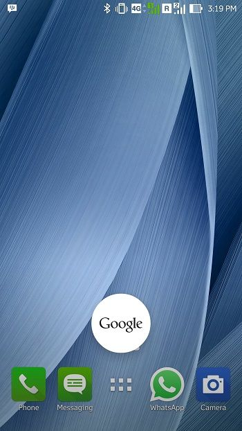 Run Google Now with Home Button