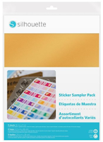 Silhouette Stickers Provpaket
