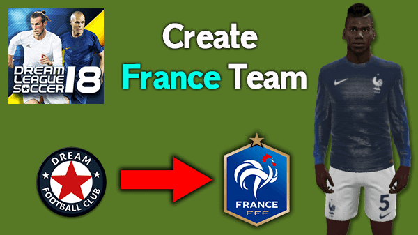 Hack Dream League Soccer 2018 France