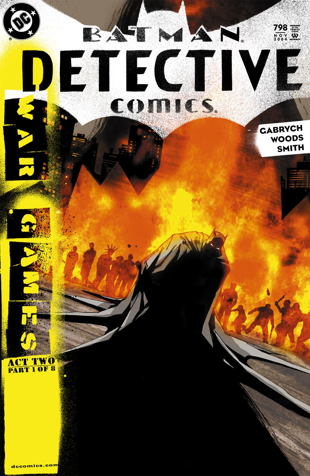 Detective Comics (1937) 798 Page 1