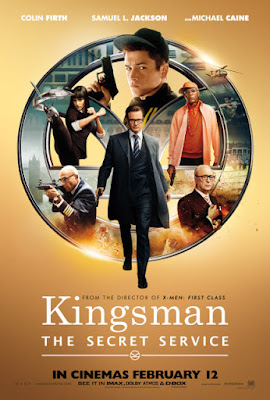 Kingsman: The Secret Service (2015) Poster HD