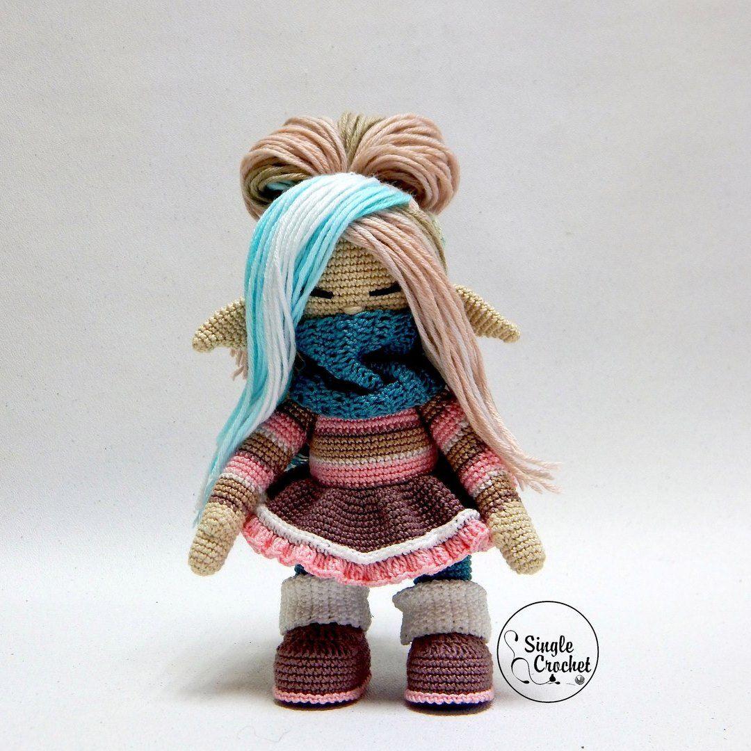 амигуруми зайки кукла схема крючок