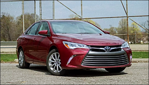 2017 Toyota Camry Beautiful Sedan