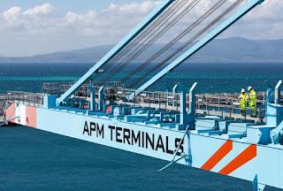 Conferenza stampa di APM Terminals a Vado Ligure