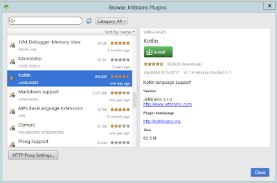 install plugin on Android Studio