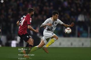 Hasil Cagliari Vs Inter Milan, Tuan Rumah Raih 3 Poin