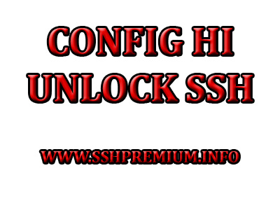 Config HI Unlimited All Operator Full Speed Android Fresh Bug Internet Gratis Terbaru 2020