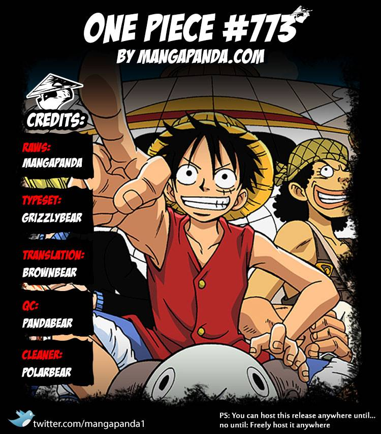 One Piece Ch 773: Half and Half