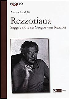 Rezzoriana Saggi E Note Su Gregor Von Rezzori PDF