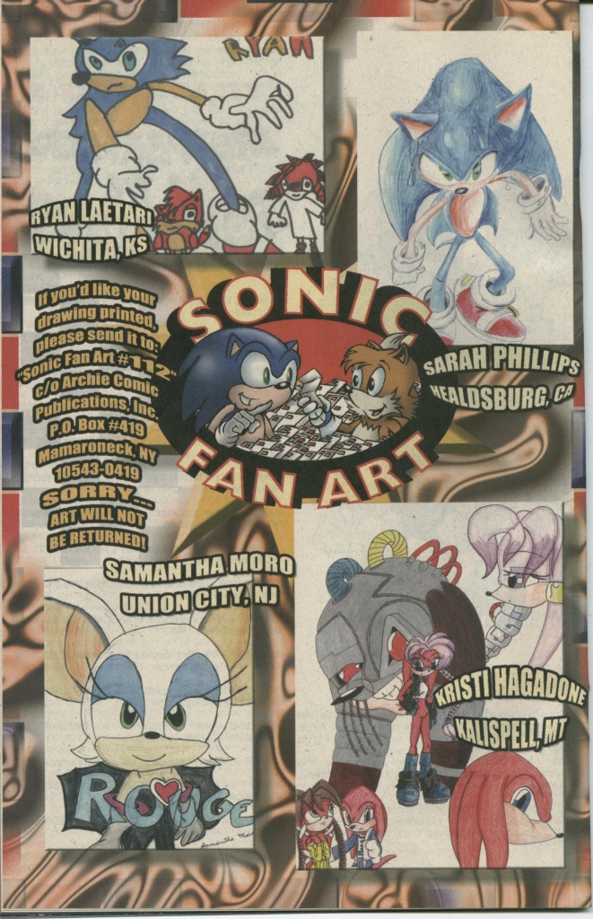 Read online Sonic The Hedgehog comic -  Issue #112 - 24