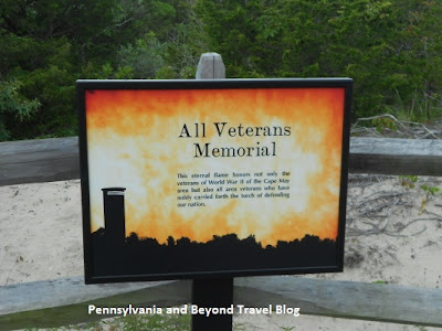 All Veterans Memorial in Sunset Beach Cape May New Jersey