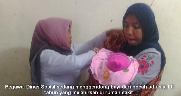 Astagfirullah, Bocah SD Usia 10 Tahun Lahirkan Bayi Laki-laki