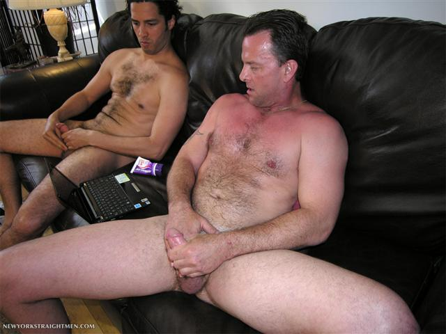 Straight guys watching porn