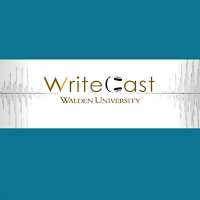 WriteCast Logo: A Casual Conversation for Serious Writers
