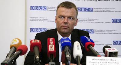 Хуг не помітив російських військ на Донбасі