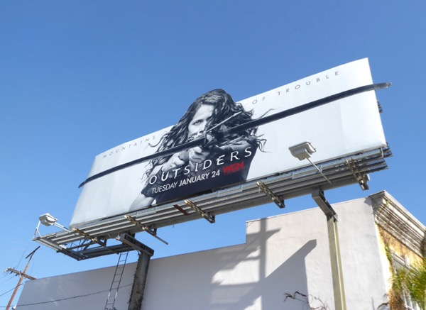 Outsiders season 2 crossbow billboard