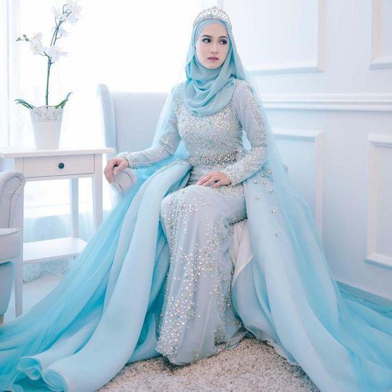 Top 10 muslim wedding dress in this year muslim wedding dresses 10 junglespirit Image collections