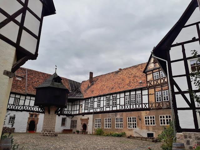 Quedlinburg: Fachwerk central.