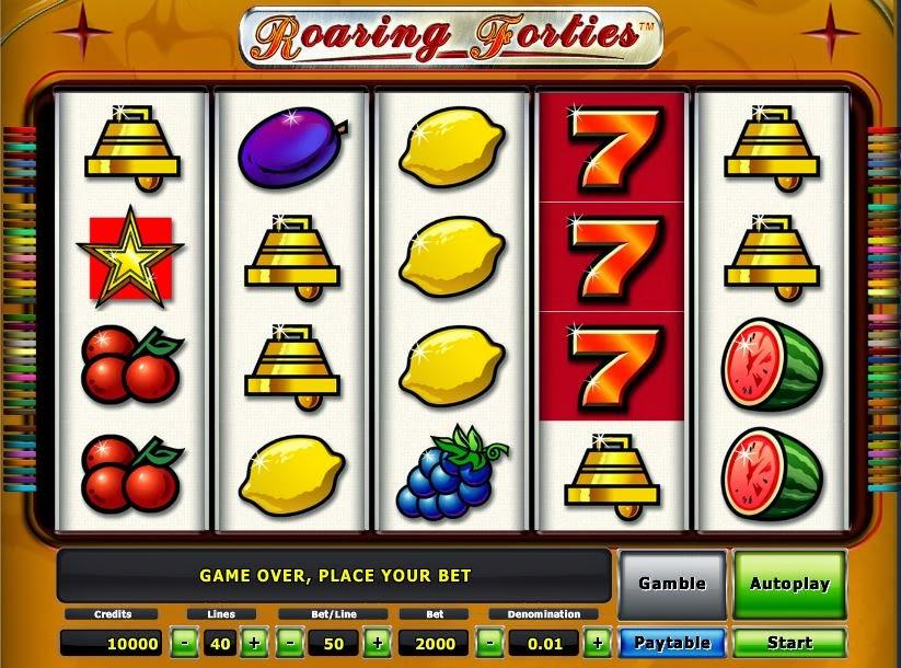 Roaring Forties Slot Download