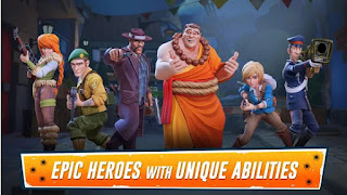 Heroes of Warland Mod Apk PvP Shooter Arena for Android