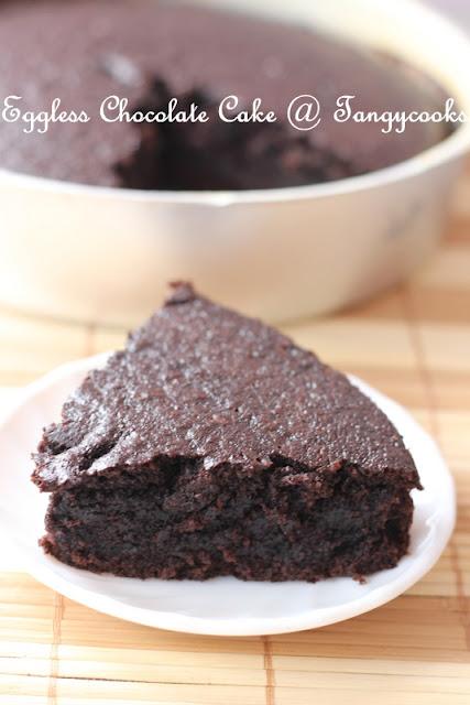 Butterless Dark Chocolate Cake Recipe